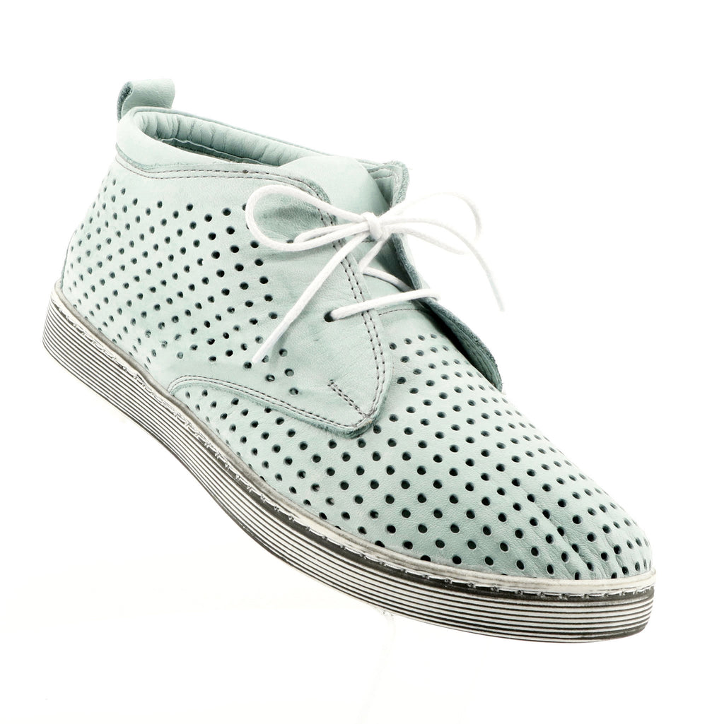 Rilassare - Tipsy Mint Lace Up Shoe - Green - Pizazz Boutique