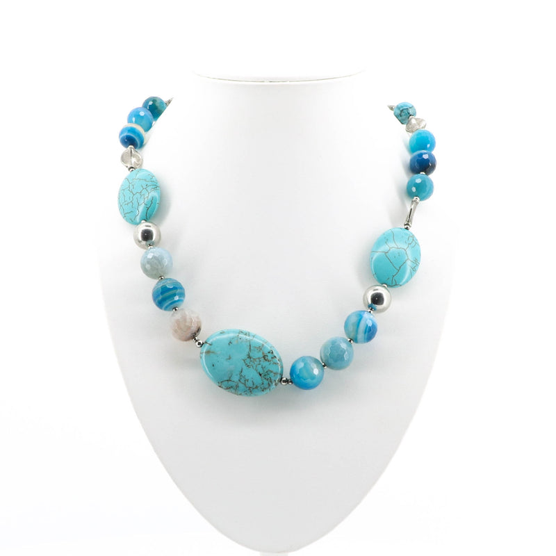 Alexa Blue Stone Necklace
