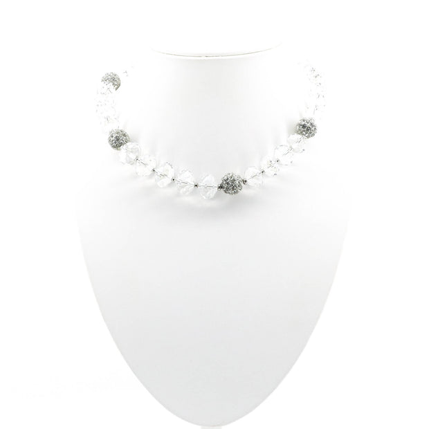 Dripping in Diamantes - Crystal Necklace