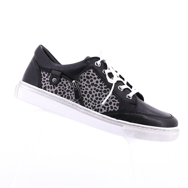 Carina Black/Leopard Shoes