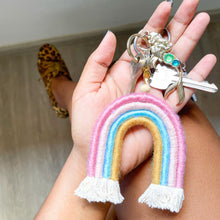 Load image into Gallery viewer, Taylor Rainbow Keyring