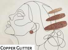 Load image into Gallery viewer, Julia Set - Copper Glitter