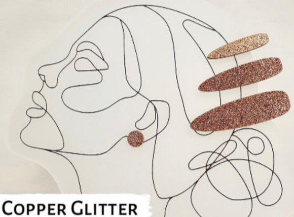 Julia Set - Copper Glitter