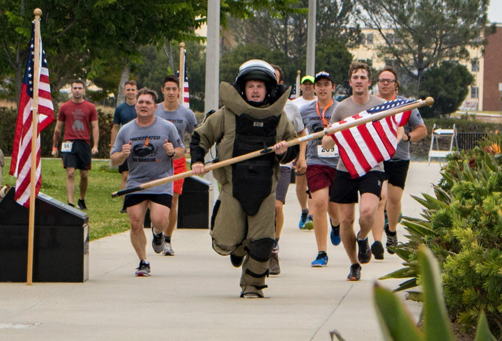 Memorial Day with the EOD Warrior Foundation