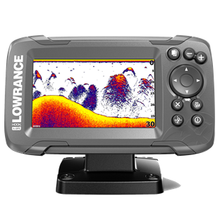 Lowrance Hook2 4x Bullet GPS Fishfinder with Track Plotter