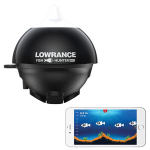 Lowrance FishHunter Pro Castable Sonar Transducer - Fishing's Finest