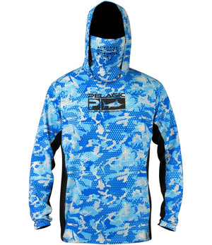 Pelagic Exo Tech Hoody - Ambush Blue - Fishing's Finest