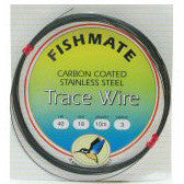 Fishmate Carbon Coated Wire Stainless Steel Trace - Fishing's Finest