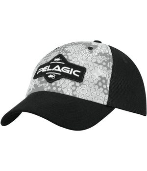 Pelagic Offshore Cap - Ambush Grey - Fishing's Finest