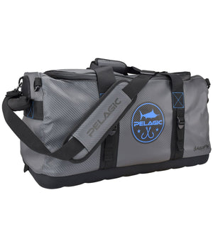 Pelagic Aquapak Duffle Bag Grey - Fishing's Finest