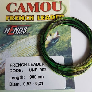 Hends Camou French Leader - Fishing's Finest