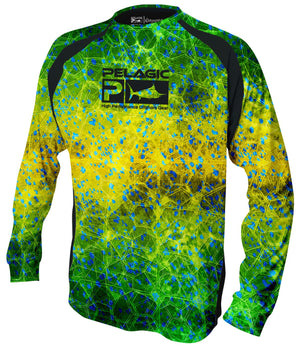 Pelagic VaporTek - Hex Dorado Green - Fishing's Finest