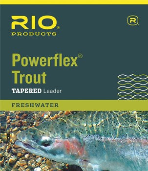 Rio Powerflex Trout Tapered Leader - Fishing's Finest