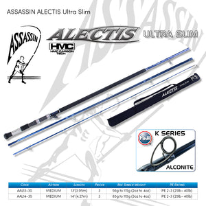 Assassin Alectis Ultra Slim Surf Rod - Fishing's Finest
