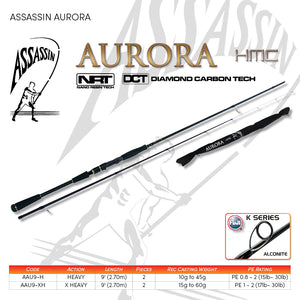 Assassin Aurora Soft Plastic Rod - Fishing's Finest