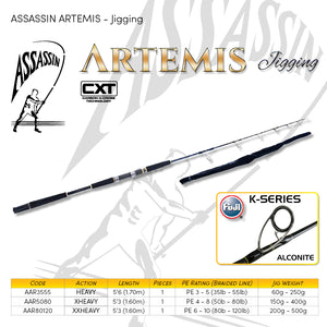 Assassin Artemis Jigging Rod - Fishing's Finest