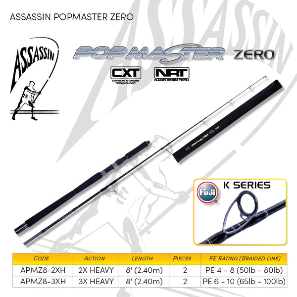 Assassin Popmaster Zero - Fishing's Finest
