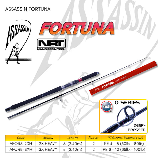 Assassin Fortuna Popping Rod - Fishing's Finest