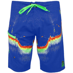 Pelagic 4 Tek Boardshort - Fishfinder - Fishing's Finest