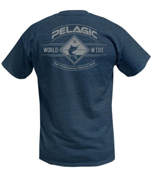 Pelagic Grander Tee - Navy - Fishing's Finest