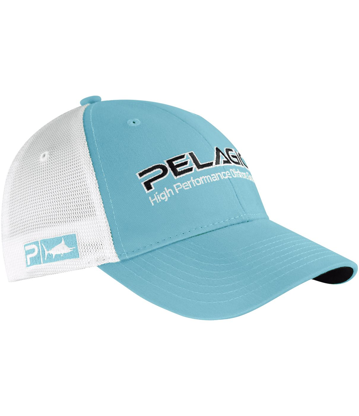 39f60f4feae0a Pelagic Offshore Cap - Solid Light Blue - Fishing s Finest