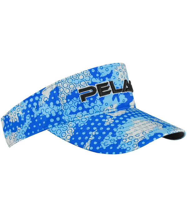 Pelagic Performance Visor- Ambush Blue - Fishing's Finest