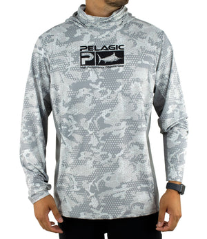 Pelagic Exo Tech Hoody - Ambush Grey - Fishing's Finest