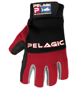 Pelagic Battle Glove - Red - Fishing's Finest