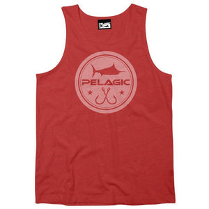 Pelagic Circle Logo Premium Tank - Fishing's Finest