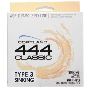 Cortland 444 Classic Sinking Fly Line - Fishing's Finest