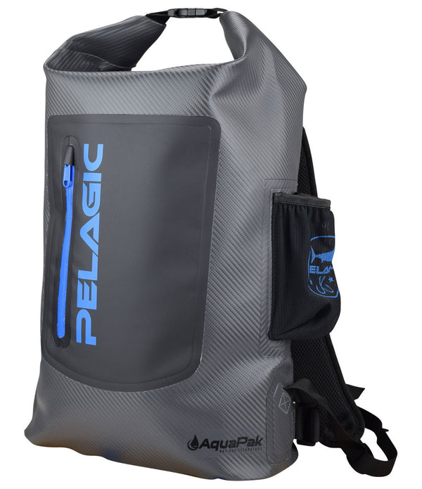 Pelagic Aquapak Backpack Grey - Fishing's Finest