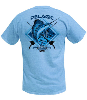 Pelagic Sailfish Tee - Light Blue - Fishing's Finest