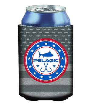 Pelagic Americano Coozie - Grey - Fishing's Finest