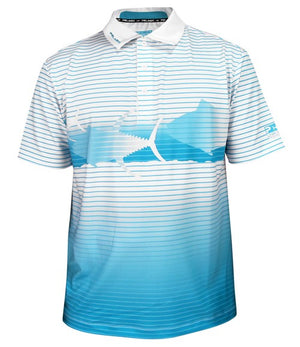 Pelagic Tuna Performance Tech Polo - Fishing's Finest