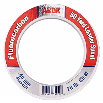 Ande Fluorocarbon Leader - 50 Yards - Fishing's Finest