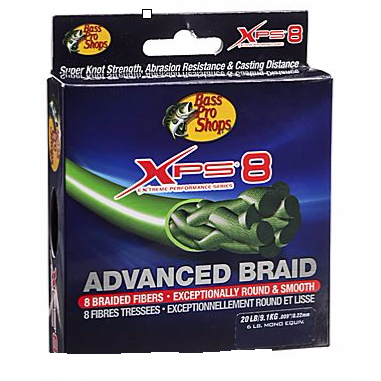 Bass Pro Shops XPS 8 Advanced Braid - Fishing's Finest