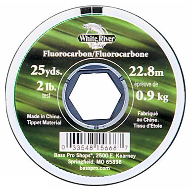 White River Fly Shop Fluorocarbon Tippet - Fishing's Finest