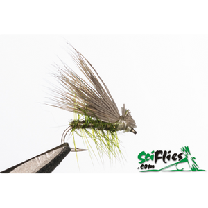 SciFlies Elk Hair Caddis - Olive - Fishing's Finest