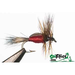 SciFlies Red Humpy - Fishing's Finest