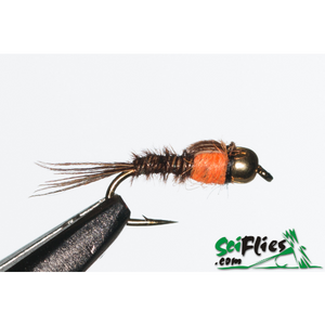 SciFlies Pheasant Tail Numph (PTN) - Hot Spot - Fishing's Finest