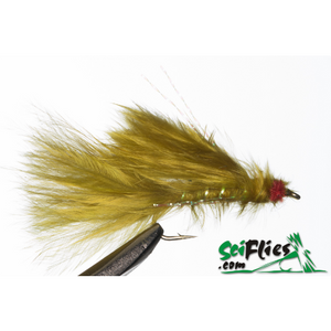 SciFlies Red Eye Damsel - Olive - Fishing's Finest