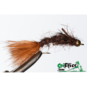 SciFlies Aggravator - Brown - Fishing's Finest