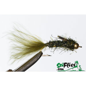 SciFlies Aggravator - Olive - Fishing's Finest