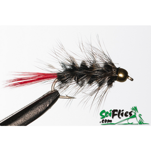 SciFlies Red Butted Wolly Worm - Fishing's Finest