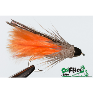 SciFlies Marabou Muddler - Orange Cone - Fishing's Finest