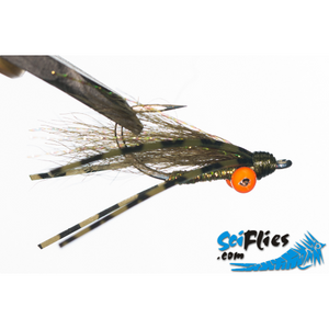 SciFlies Bright Eye Charlie - Olive - Fishing's Finest