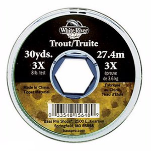 White River Fly Shop Trout Tippet - Fishing's Finest