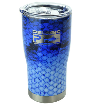 Pelagic 20 Oz Tumbler - Dorado Blue - Fishing's Finest
