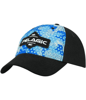 Pelagic Offshore Cap - Ambush Blue - Fishing's Finest