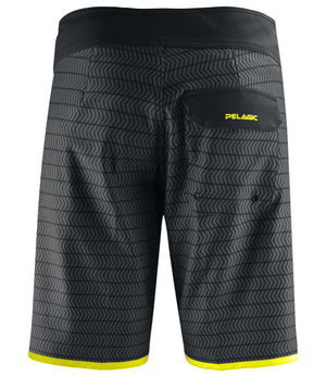 Pelagic The Wedge Boardshort - Black Swerve - Fishing's Finest